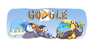 today s today s google doodle celebrates the beginning of christmas season