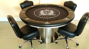 poker table and chairs round poker table with chairs u2013 monplancul info