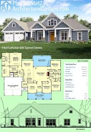 what do you need to build a house plan 51756hz 4 bed craftsman with tapered columns craftsman house