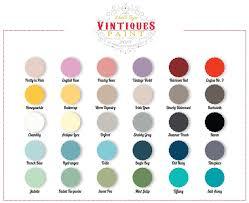 vintiques paint color chart painted treasures of denver