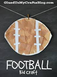 football kid craft craft activities and