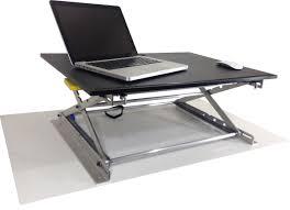 Standing Sitting Desks Adjustable by Riseup Standing Desk Adjustable And Portable Sit Or Stand Desk