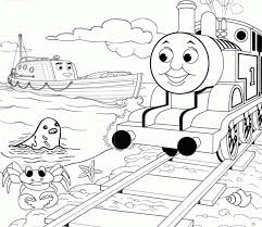 printables toddlers thomas friends coloring pages