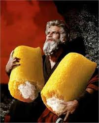 Twinkie Meme - charlton heston as moses in the ten commandments with twinkies