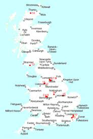 map uk villages towns villages called tong e