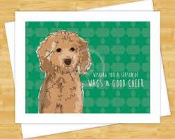 dog christmas cards dog christmas cards etsy