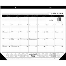desk pad calendar protector one source office products at a glance recycled desk pad regarding