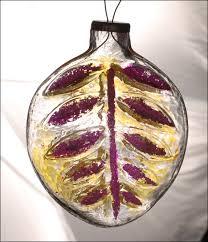 antique kugel ornament leaf at christmas4ever
