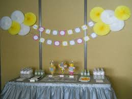Easy Baby Shower Decorations Make Easy Decorations For Baby Shower