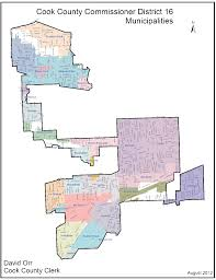 Cook County Map Helpful Links