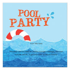 pool party invitations party invitation templates pool party invitations templates free