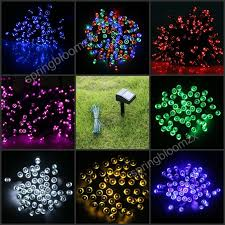 Outdoor Solar Christmas Lights - solar white christmas lights gallery of pcs multicolor solar