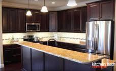 Cherry Espresso Cabinets Kitchen And Bath Center Categories