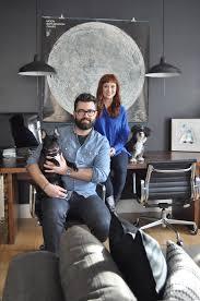 home design studio brooklyn house tour a compact brooklyn apartment and studio apartment