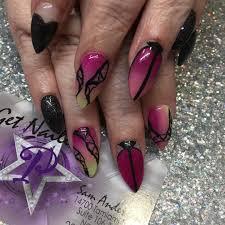 30 colourful acrylic nail art designs ideas design trends