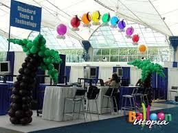 san diego trade show booth decor by balloon utopia