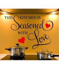 stickerskart kitchen pvc wall stickers buy stickerskart kitchen stickerskart kitchen pvc wall stickers