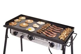Outdoor Flat Grill Cooktop Professional Flat Top Griddle 16