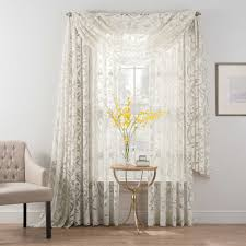 smart sheer insulated burnout voile sheer window treatments