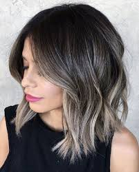 hambre hairstyles ombre hairstyles for medium length hair trends 2018 summer