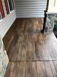 Decorative Concrete Kingdom Rustic Concrete Wood Porch Tailored Concrete Coatings Bo U2026 Flickr