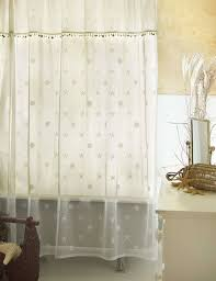 sand shell shower curtain and valance set u2013 heritage lace 7175e