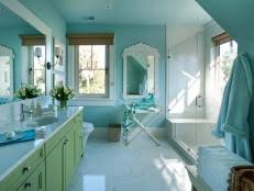 bathroom ideas blue blue bathroom ideas and decor with pictures hgtv