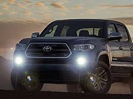 2008 toyota tacoma fog light kit amazon com 2016 2017 2018 toyota tacoma bumper fog ls driving