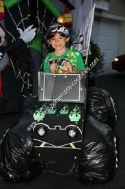 7 grave digger monster truck costume images