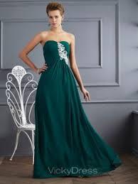 empire linie herzausschnitt bodenlang chiffon brautjungfernkleid p624 festliche kleider formelle kleidung bestellen vickydress