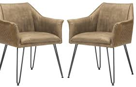 trent austin design greenwood genuine leather upholstered dining