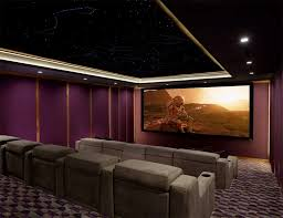 Home Theater Design Checklist Dolby Atmos Home Theater Gains Finishing Touch A Starlit Ceiling
