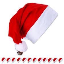 12x nikolausmütze weihnachtsmütze rot nikolaus kostüm weihnachten