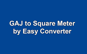 square feet to gaj convert gaj to square meter by easy calculator land measurement