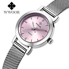 pink bracelet watches images New wwoor luxury women watch famous brands pink dial fashion jpg