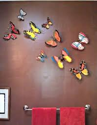 my papier mache butterfly collection