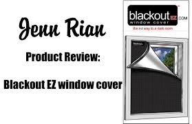 product review blackout ez window cover youtube