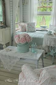 shabby chic livingroom shabby chic nook in the living room decoraciones de habitación