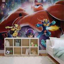 disney big hero 6 wall mural for your home buy at europosters disney big hero 6 wallpaper mural