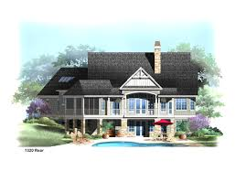 Cottage Plans With Garage Craftsman House Plans Woodcliffe 30 715 Associated Designs