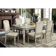 holcroft antique white dining set