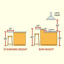 height of kitchen island kitchen island bar height biceptendontear