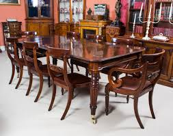 Awesome Mahogany Dining Room Furniture The Minimalist NYC - Mahogany dining room sets