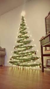 Christmas Decorations For Homes Diy Christmas Tree Cheap Easy And Space Friendly Way To Decorate