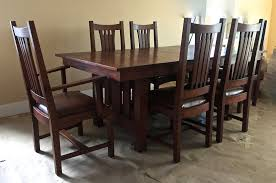 craftsman style dining room table dining room palouse customwoodworks
