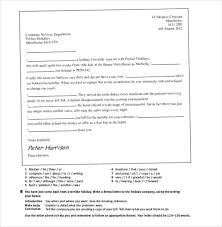 restaurant and hotel complaint letter u2013 10 free word pdf