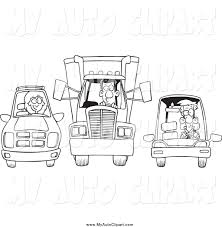 royalty free coloring book page stock auto designs