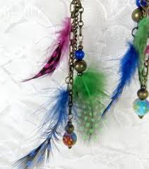 80s feather earrings the world s catalogue of ideas