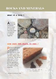 geology is a piece of cake hardcover tumblehome learning