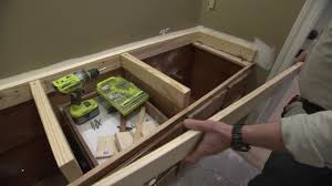 raising kitchen base cabinets how to raise a countertop